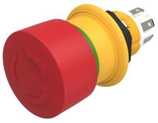 EAO Introduces Series 61 Compact Emergency Stop Switch