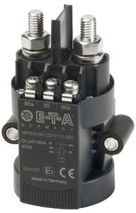 Mechanical Power Relays (MPR) from E-T-A