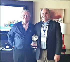 Sager Electronics Awarded Distributor of the Year by NMB Technologies