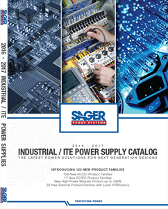 Sager Electronics Releases New Industrial/ITE Catalog