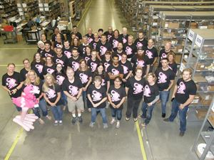 TTI Family of Companies Join Together to Fight Breast Cancer
