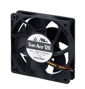 Sanyo Denki Releases 120 x 120 x 25 mm Low Power Consumption Fan