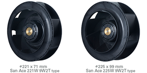 Sanyo Denki Releases Splash Proof Centrifugal Fan