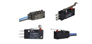 Honeywell MICRO SWITCH™ V15W Series Watertight Miniature Basic Switches