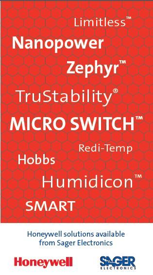 Honeywell Sensing & Switch Solutions from Sager