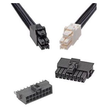 Ultra-Fit and Nano-Fit power connectors are in stock at Sager Electronics