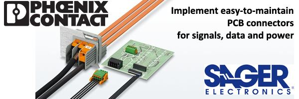 Phoenix Contact PCB Connectors for signals, data and power