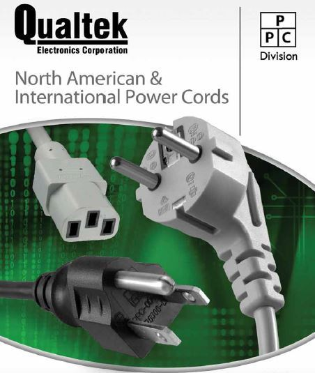 Click to download Qualtek's Power Cords brochure