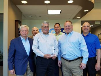 RAFI presents Sager Electronics with 2017 Distributor of the Year award