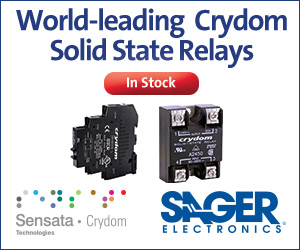 Crydom in stock at Sager