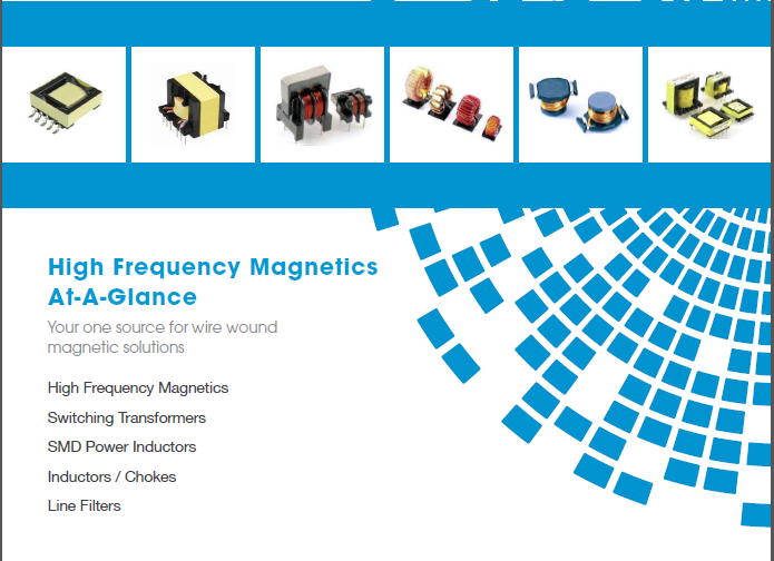 Signal's High Frequency Magnetics At-A-Glance   Signal