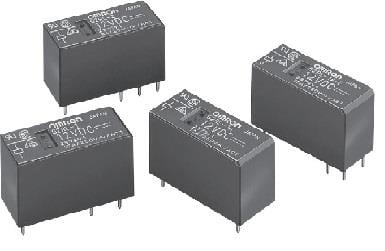 G2RL-14 DC5 Omron Electronic Components Power Relay 5VDC 12A SPDT( (29mm 12.7mm 15.7mm)) THT