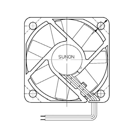 ME40101V1-000U-A99 Sunon DC FAN / AUTO RESTART / SIZE (MM):  40X40X10 / VOLTAGE:  12 / BEARING TYPE:  VAPO
