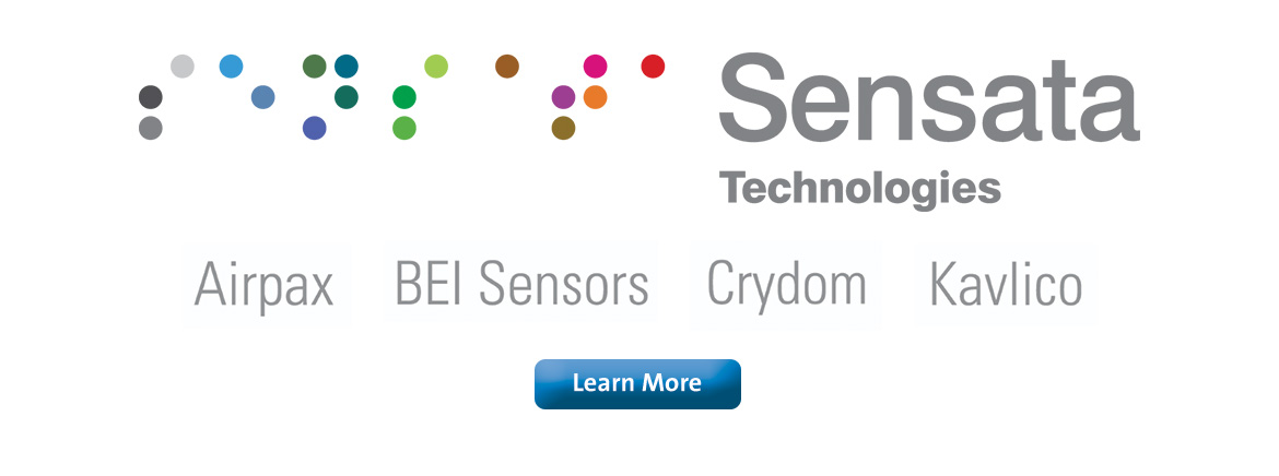 Sager Electronics is an Authorized Distributor of Sensata Technologies
